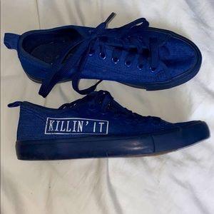"""Shoes - Cute """"KILLIN' IT"""" Sneakers"""
